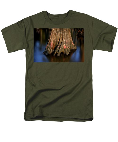 Men's T-Shirt  (Regular Fit) featuring the photograph Cypress Tree by Evgeny Vasenev