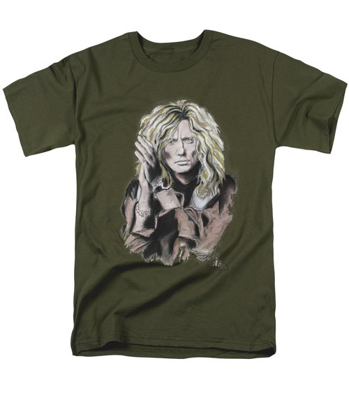 David Coverdale Men's T-Shirt  (Regular Fit) by Melanie D