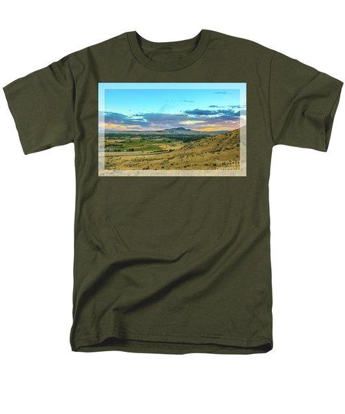 Emmett Valley Men's T-Shirt  (Regular Fit) by Robert Bales