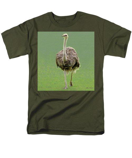 Emu Men's T-Shirt  (Regular Fit) by Ellen Henneke