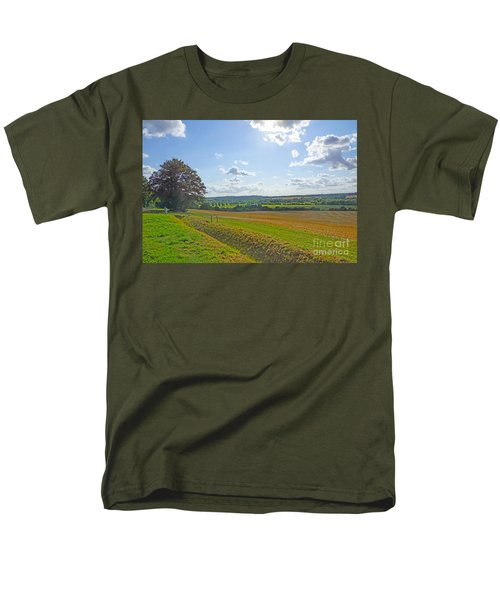 English Countryside Men's T-Shirt  (Regular Fit) by Andrew Middleton