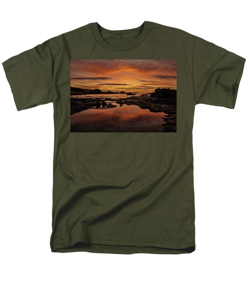 Men's T-Shirt  (Regular Fit) featuring the photograph Evenings End by Roy McPeak