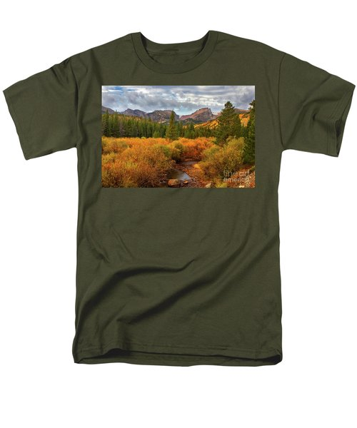 Fall In Rocky Mountain National Park Men's T-Shirt  (Regular Fit) by Ronda Kimbrow