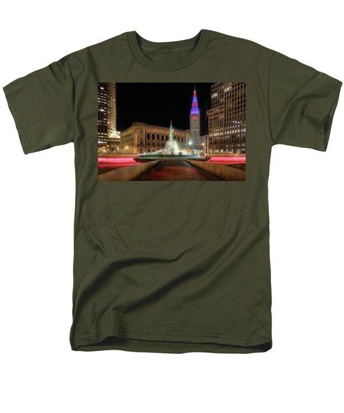 Fountain Of Eternal Life Men's T-Shirt  (Regular Fit) by Brent Durken