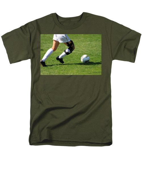 Futbol Men's T-Shirt  (Regular Fit) by Laddie Halupa