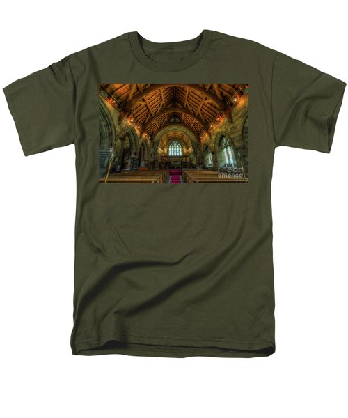 Gods Light Men's T-Shirt  (Regular Fit) by Ian Mitchell