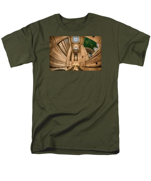 Grand Central Terminal Underpass Men's T-Shirt  (Regular Fit) by Rafael Quirindongo