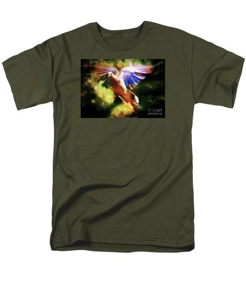Guardian Angel Men's T-Shirt  (Regular Fit) by Tina  LeCour