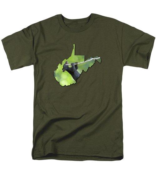 Hanging On Men's T-Shirt  (Regular Fit) by Dan Friend