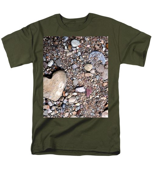 Men's T-Shirt  (Regular Fit) featuring the photograph Heart Of Stone by Danielle R T Haney