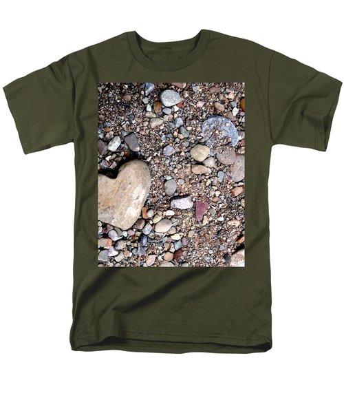Heart Of Stone Men's T-Shirt  (Regular Fit) by Danielle R T Haney