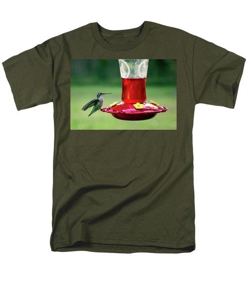 Hummingbird Men's T-Shirt  (Regular Fit) by Denis Lemay
