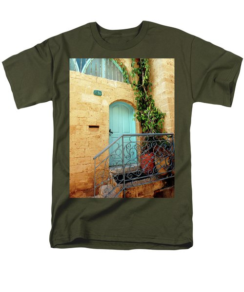 Men's T-Shirt  (Regular Fit) featuring the photograph Jaffa-israel by Denise Moore