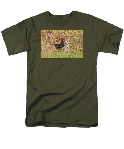 Jaguar Watching Men's T-Shirt  (Regular Fit) by Aivar Mikko