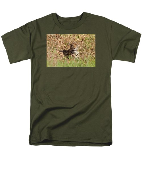 Jaguar Watching Men's T-Shirt  (Regular Fit)
