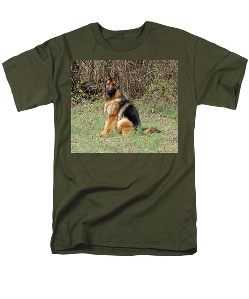 Men's T-Shirt  (Regular Fit) featuring the photograph Jessy by Sandy Keeton