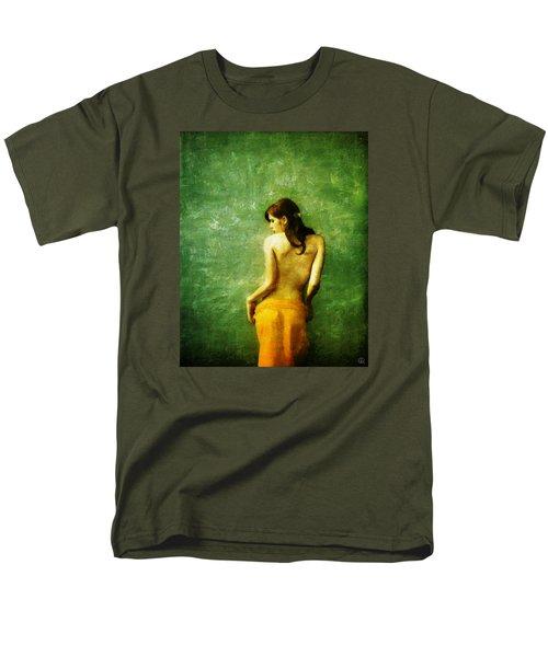 Just A Back Men's T-Shirt  (Regular Fit) by Gun Legler