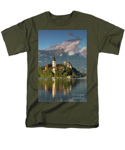 Men's T-Shirt  (Regular Fit) featuring the photograph Lake Bled by Brian Jannsen