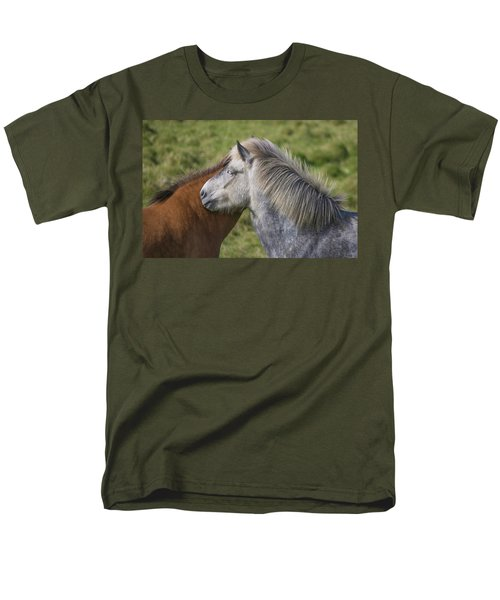 Men's T-Shirt  (Regular Fit) featuring the photograph Lean On Me by Elvira Butler