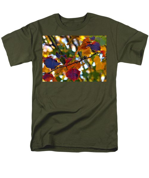 Leaves Of Autumn Men's T-Shirt  (Regular Fit) by Stephen Anderson