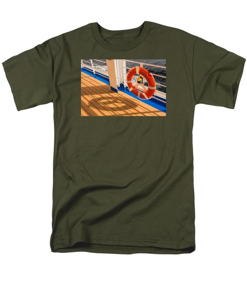 Men's T-Shirt  (Regular Fit) featuring the photograph Life Saver by Lewis Mann
