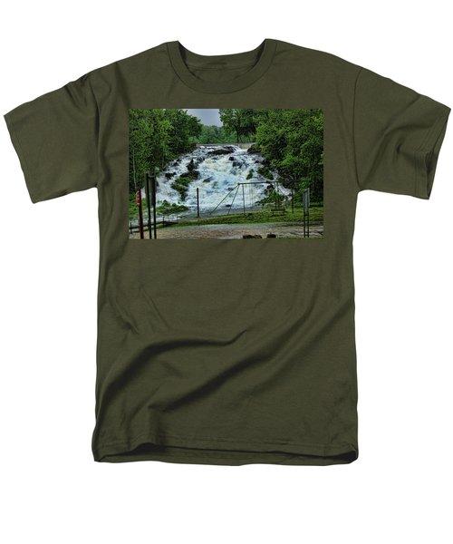Lots Of Rain Men's T-Shirt  (Regular Fit) by Rick Friedle