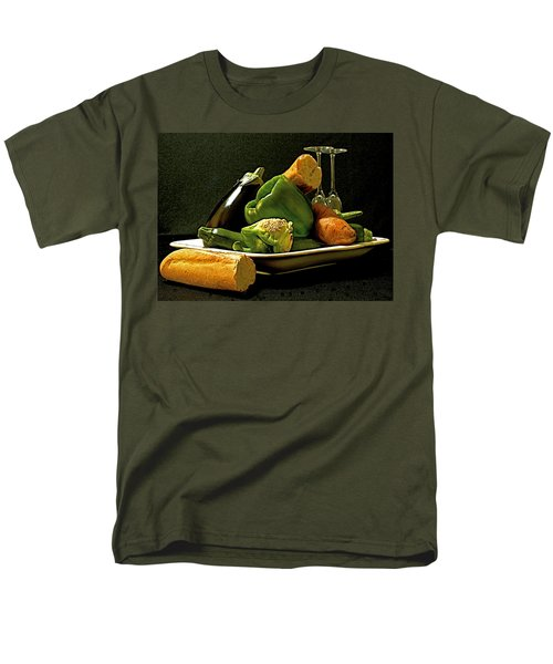 Men's T-Shirt  (Regular Fit) featuring the photograph Lunch Time by Elf Evans