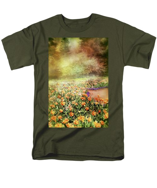 Men's T-Shirt  (Regular Fit) featuring the photograph Masquerade by Diana Angstadt