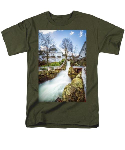 Mill Falls Men's T-Shirt  (Regular Fit) by Robert Clifford