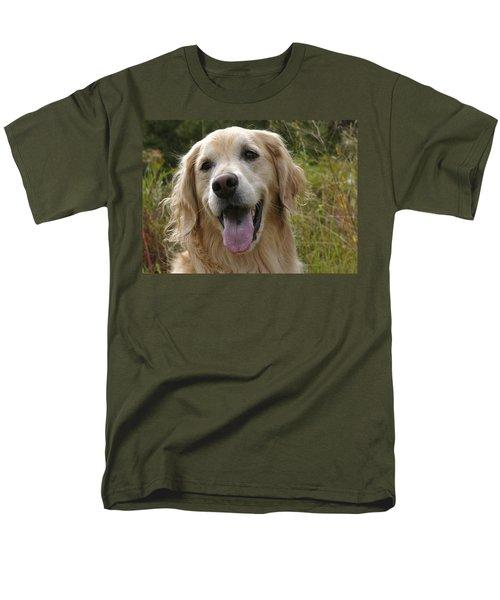 Morgie Men's T-Shirt  (Regular Fit) by Rhonda McDougall