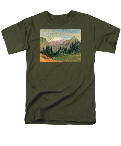 Mountain View Men's T-Shirt  (Regular Fit) by R Kyllo
