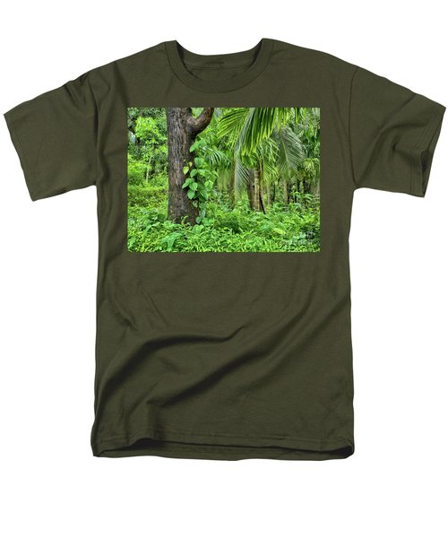 Men's T-Shirt  (Regular Fit) featuring the photograph Nature 7 by Charuhas Images