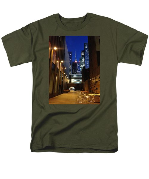Men's T-Shirt  (Regular Fit) featuring the photograph New York Night by Helen Haw