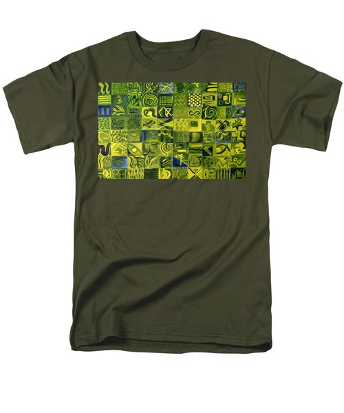 Night On The Lawn Men's T-Shirt  (Regular Fit) by Patricia Cleasby