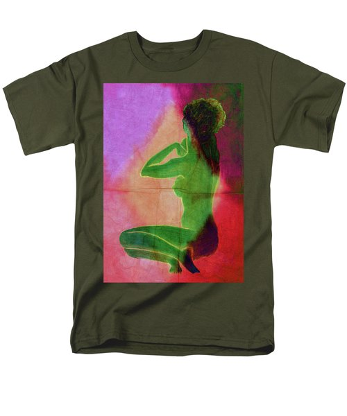 Nude Woman Men's T-Shirt  (Regular Fit) by Svelby Art