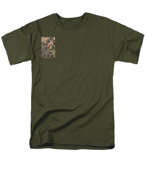 Men's T-Shirt  (Regular Fit) featuring the photograph On The Rocks by Peter Tellone