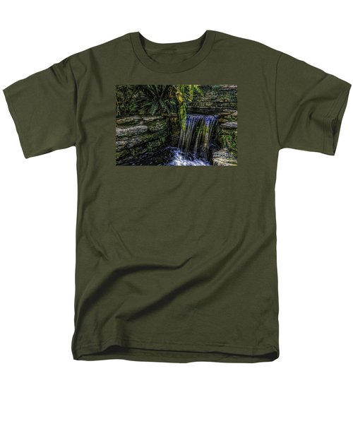 Men's T-Shirt  (Regular Fit) featuring the photograph Over The Edge by Ken Frischkorn