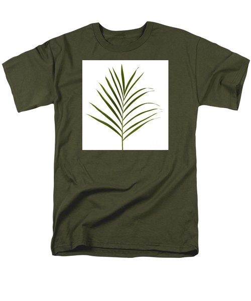 Palm Leaf Men's T-Shirt  (Regular Fit) by Tony Cordoza