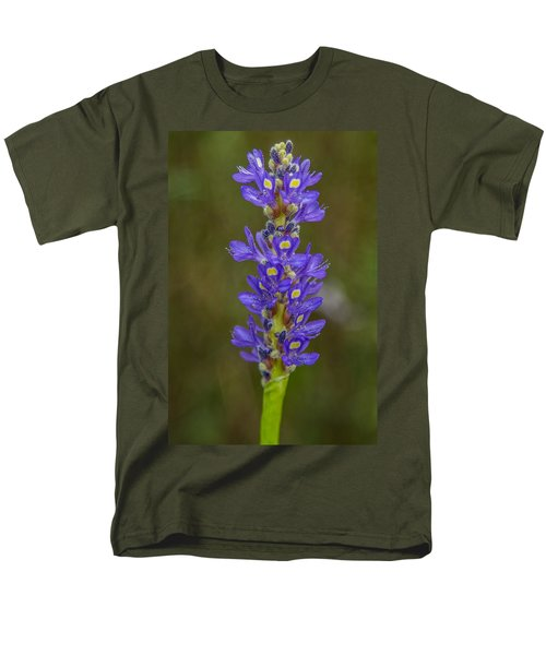 Pickerel Weed Men's T-Shirt  (Regular Fit) by Christopher L Thomley