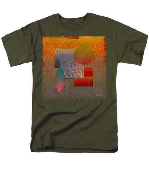 Quiet Sunset At The End Of Northern Summer  Men's T-Shirt  (Regular Fit) by Serge Averbukh