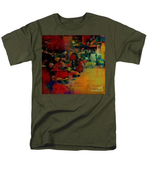 Ranoush Painted Men's T-Shirt  (Regular Fit) by Kelly Awad