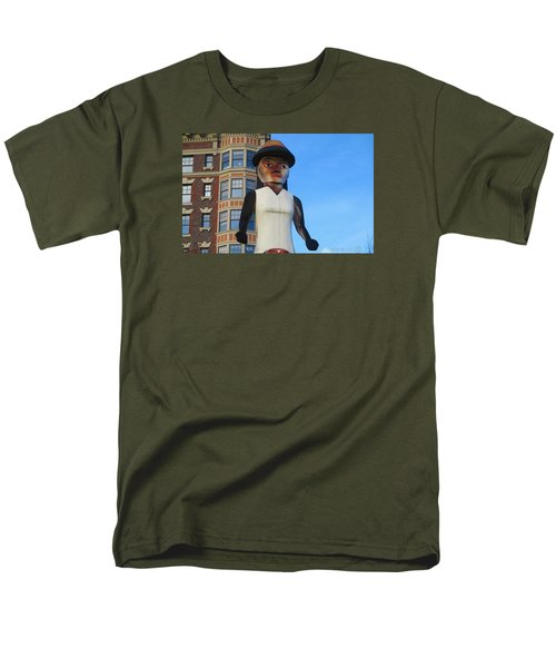 Salish Woman Men's T-Shirt  (Regular Fit) by Martin Cline