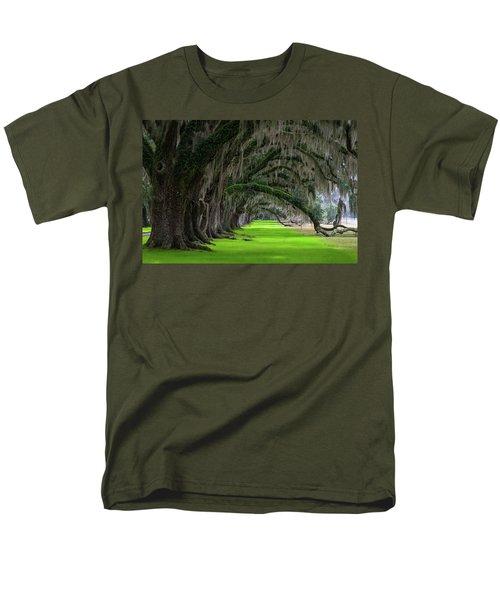 Southern Oaks Men's T-Shirt  (Regular Fit) by Serge Skiba