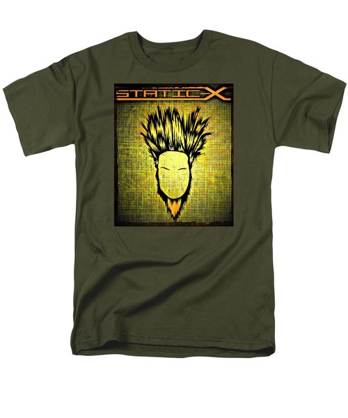 Static-x Men's T-Shirt  (Regular Fit) by Kyle West