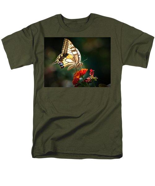 Swallowtail Men's T-Shirt  (Regular Fit) by Meir Ezrachi