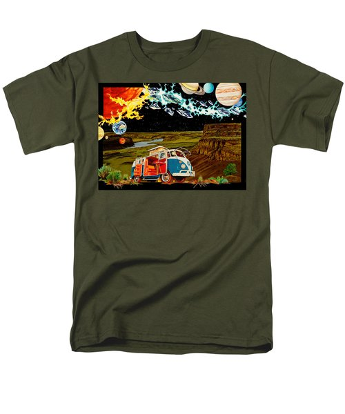 The Gorge One Sweet World Men's T-Shirt  (Regular Fit) by Joshua Morton
