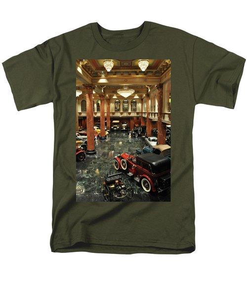 Grand Salon At The Nethercutt Men's T-Shirt  (Regular Fit) by Kyle Hanson