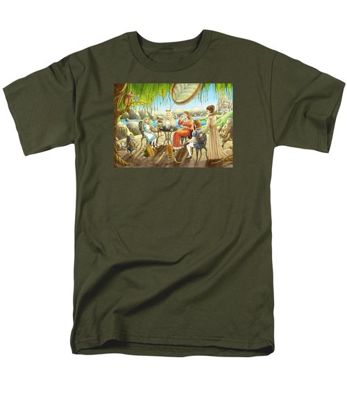 The Palace Garden Tea Party Men's T-Shirt  (Regular Fit) by Reynold Jay