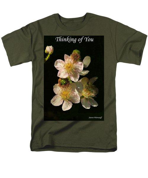 Thinking Of You Men's T-Shirt  (Regular Fit) by Steve Warnstaff