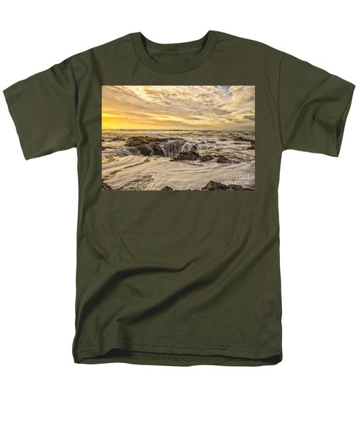 Thor's Well Men's T-Shirt  (Regular Fit) by Billie-Jo Miller